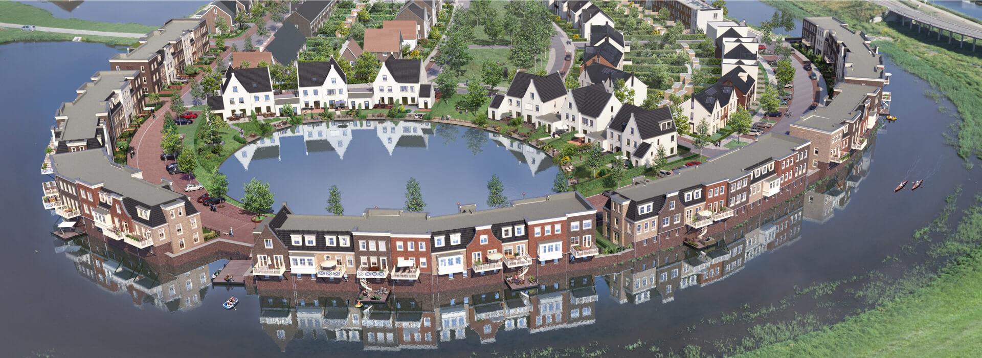 Wonen in Westergouwe Aan de nieuwe Stadskade